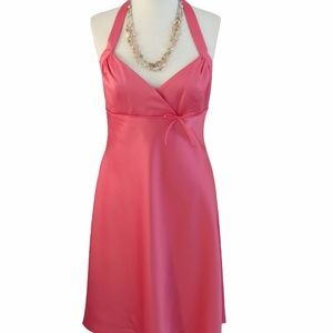 Alfred Angelo Satin High-Low Dress, Size: 14